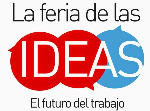Logotipo del evento del Landing Page Feria de Las Ideas