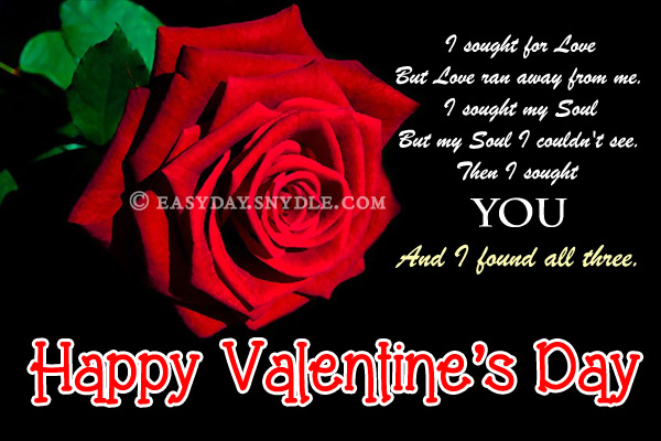 Valentine Greeting Card Sayings – Greeting Cards of Valentine Day