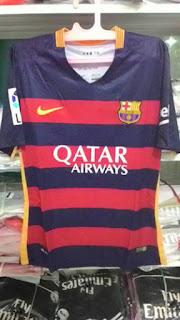 Jersey Barcelona home ladies official terbaru musim 2015/2016