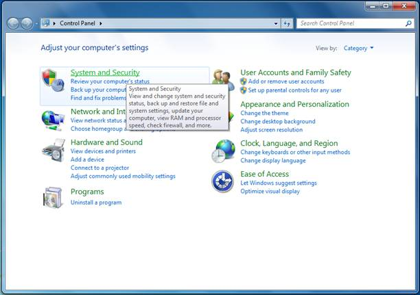 how to turn off windows auto update in windows 7