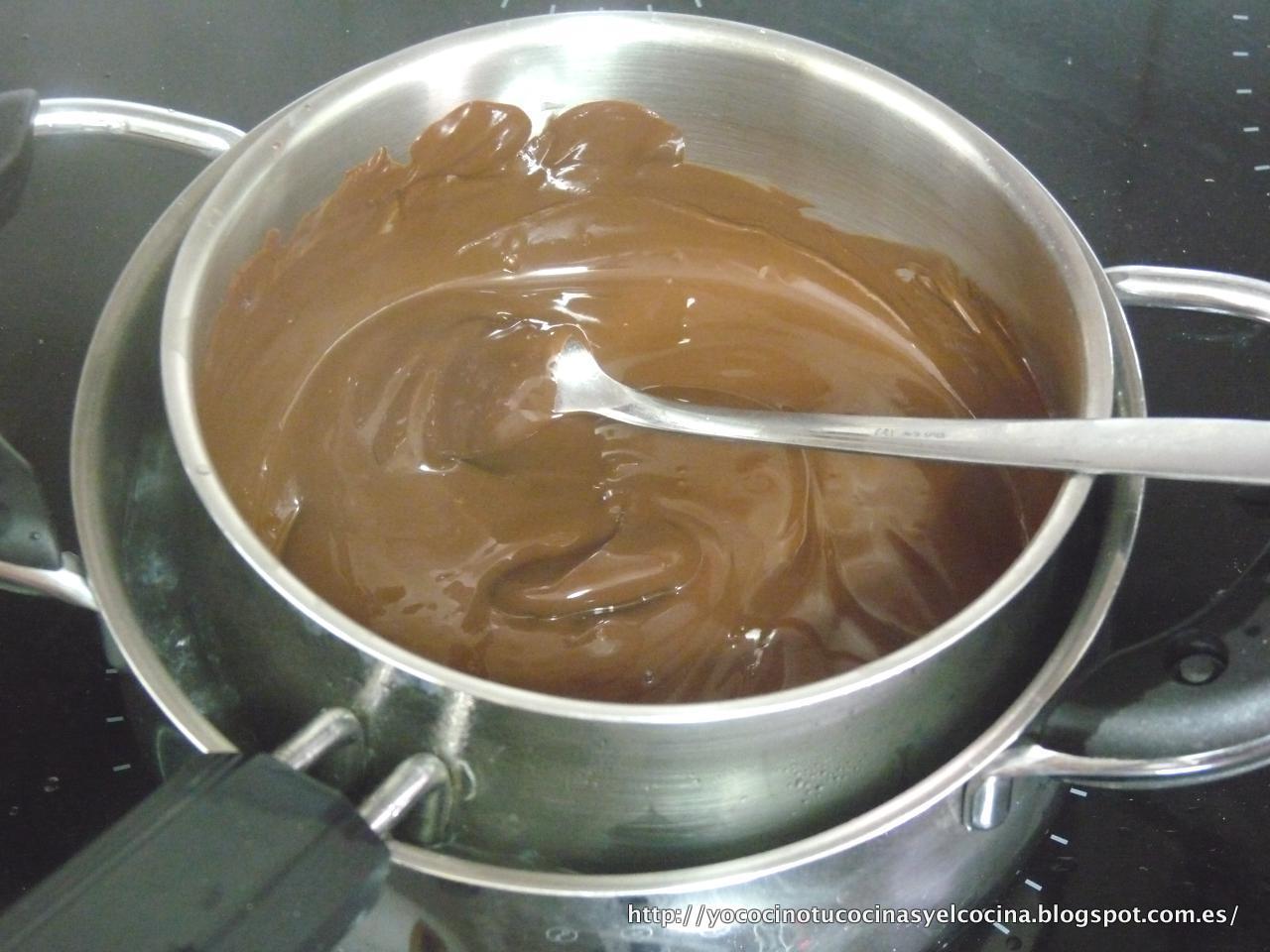 """Baño Sencillo De Chocolate:Yo cocino, tú cocinas y él cocina: Tarta """"el Alfajor Gigante"""""""