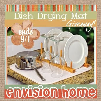 Envision Home, Dish Drying Mat, Dishes Rack