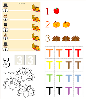 turkey teachers homeschool moms toddler unit