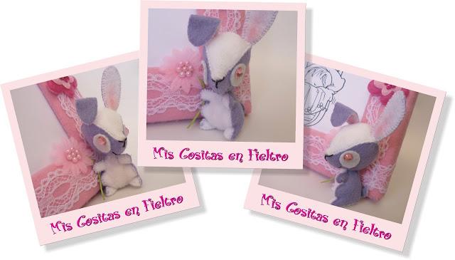 marco, portafotos, bebé, regalo, animales, 3D, conejo, conejito