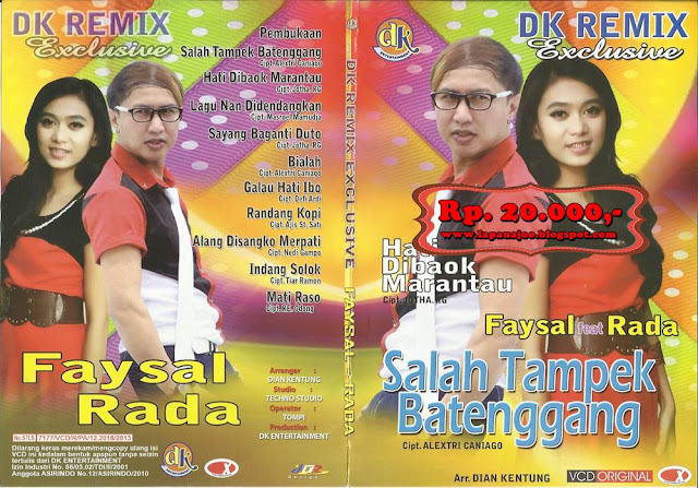 Faysal Feat Rada - Salah Tampek Batenggang (Album DK Remix Exclusive)