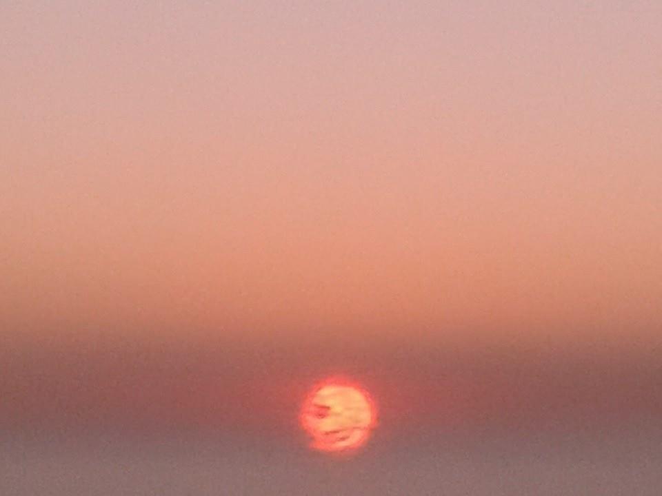 Sunrise del solsticio de Invierno 2014