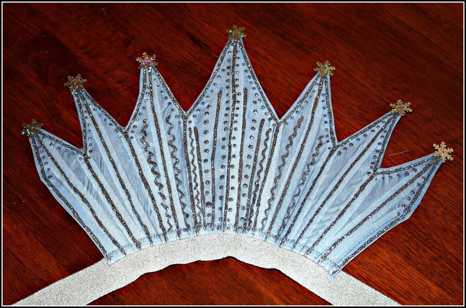Воротники на костюм снежной королевы как сделать