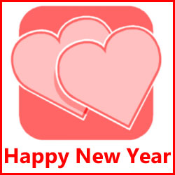 Happy New Year Wishes For Love