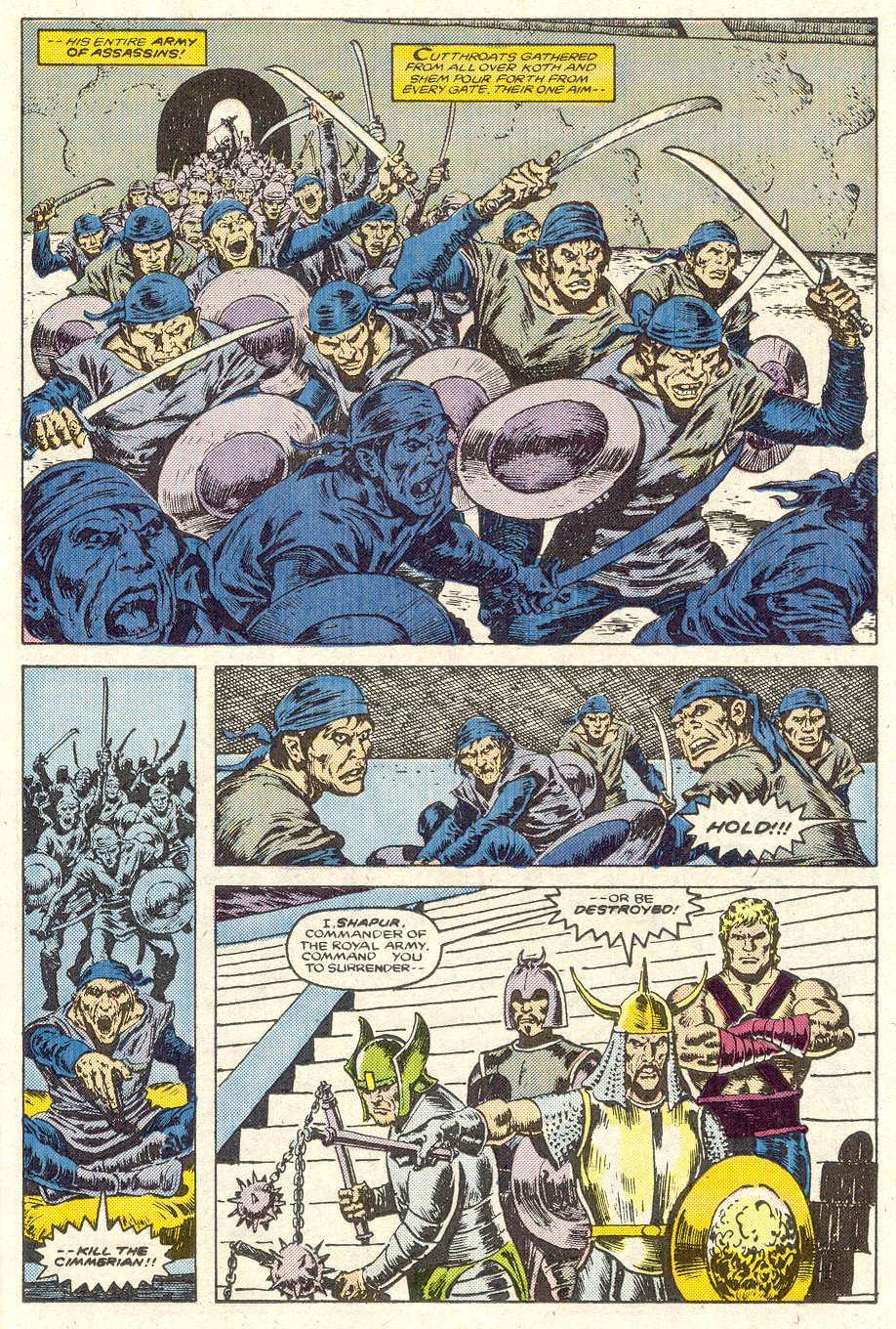 Conan the Barbarian (1970) Issue #188 #200 - English 16