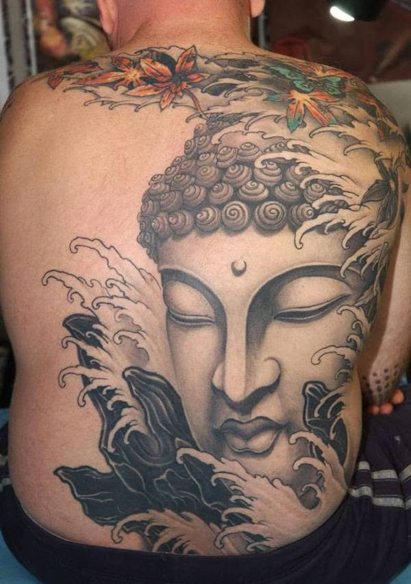 Buddhism is one of the oldest religions in east Asia. Buddhist tattoo is an expression of the belief of Buddha or Buddhism.