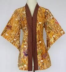 Gambar Model Baju Batik Wanita Terbaru 2018