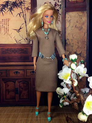 Handmade Barbie Doll Dress