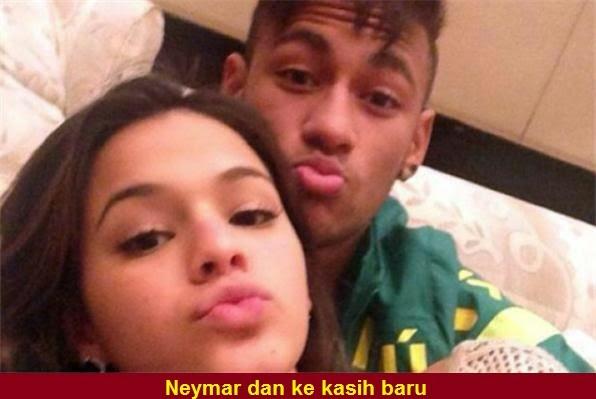 Gambar Selena Gomez teman wanita baru Neymar
