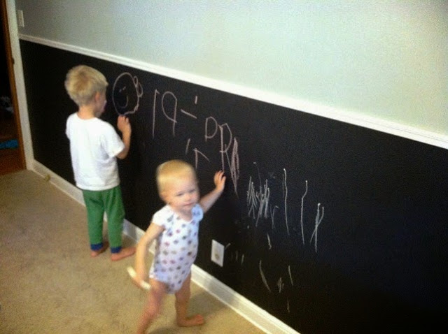 Interactive wall painting ideas for kids rooms for Interactive room painting
