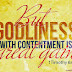 How can I experience contentment?