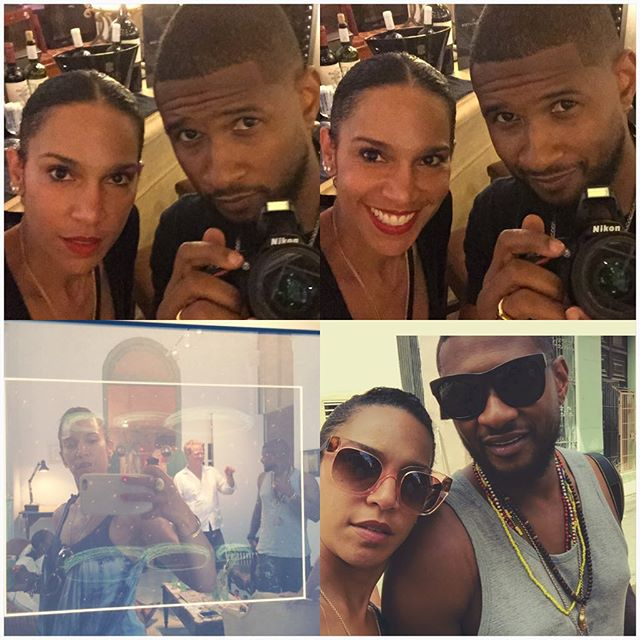 usher and grace miguel,usher gets married,usher marries grace miguel,