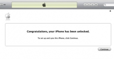 iPhone unlocked for free