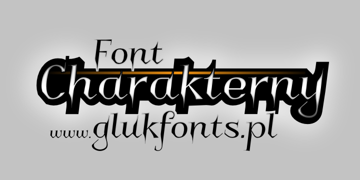 Latest Stylish Fonts Charakterny Stylish Font
