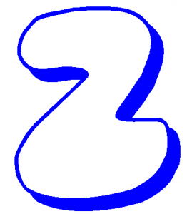 2Bubble Letters Z In The Year 2011