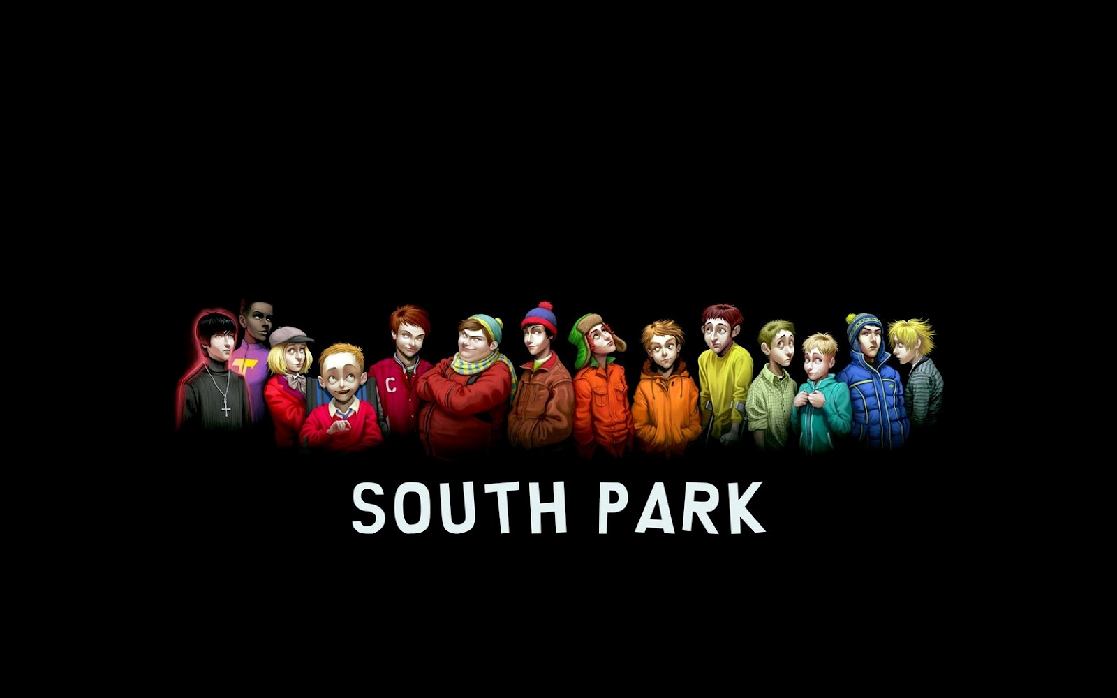 South park characters elder versions hd cartoon wallpaper