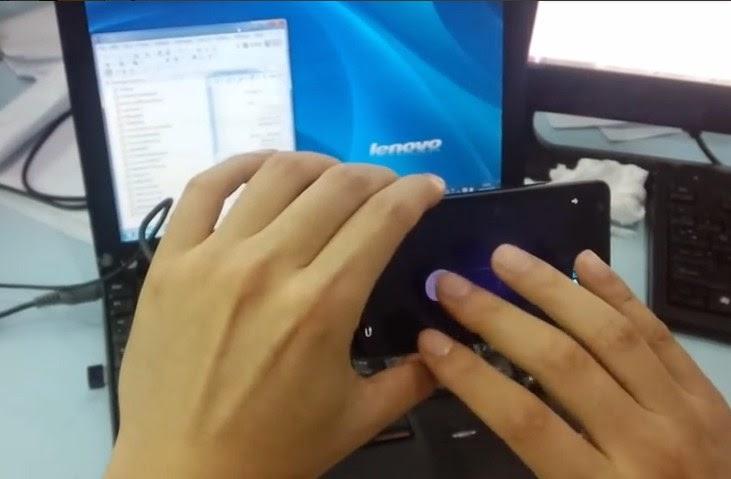 Menggantikan Fungsi Mouse Dengan Ponsel Android