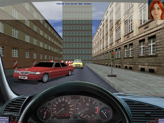 driving school game