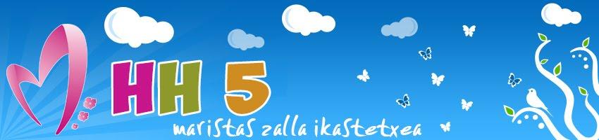 MARISTAS ZALLA IKASTETXEA - HH5 16/17