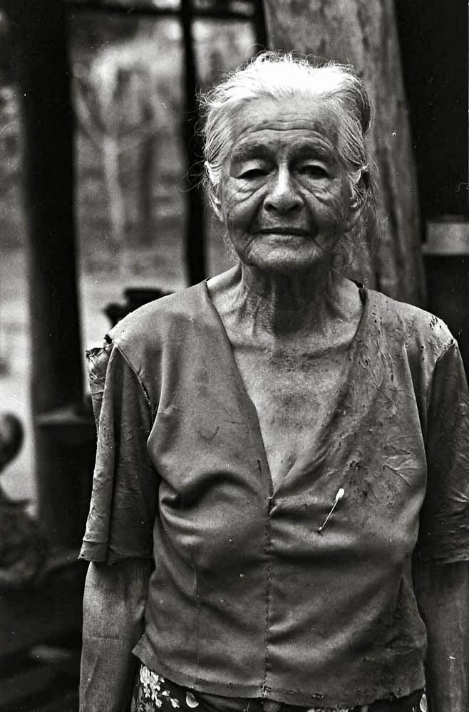 PEASANT WOMAN IN SANTA ROSA, PARAGUAY 1987