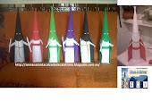 pekeños penitentes de varias Hermandades confeccionado artesanía en Goma Eva, Calzada de Calatrava
