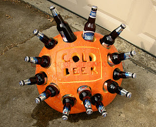 A Fun Way To Serve Beers On Your Halloween Party
