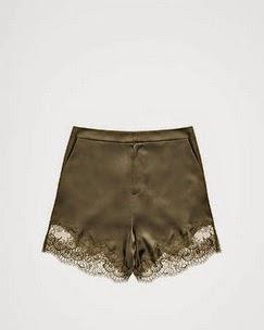 Satin Shorts #HMStudioCollectionAW14