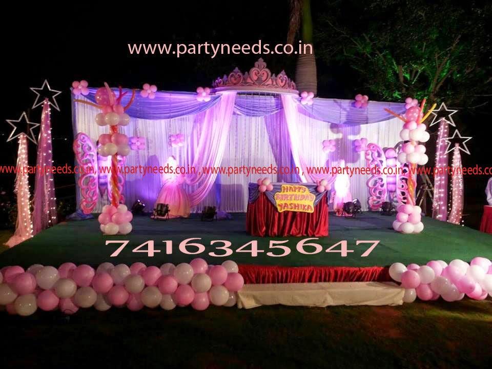 birthday party decorations in hyderabad vijayawada warangal