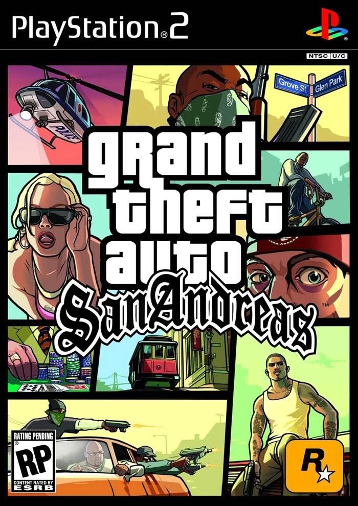 GTA San Andreas Cover