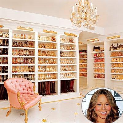 Mariah Careyu0027s (shoe Store) Closet