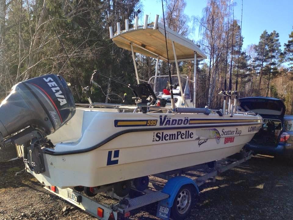 Båten en Väddö 595