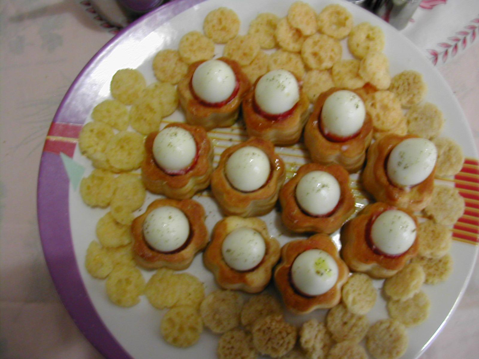 squisito: vol au vent con pate' e uova di quaglia - Cucinare Uova Di Quaglia