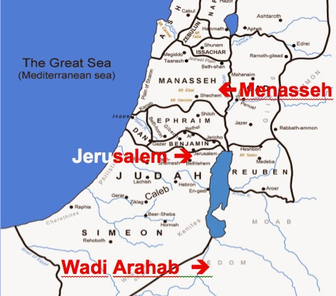 NephiCode Where Did Lehi Live Before Departing Into The - Jerusalem location