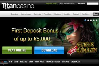 Titan Casino Screen