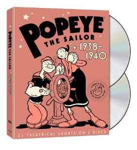 Popeye the Sailor: 1938-1940, Vol. 2