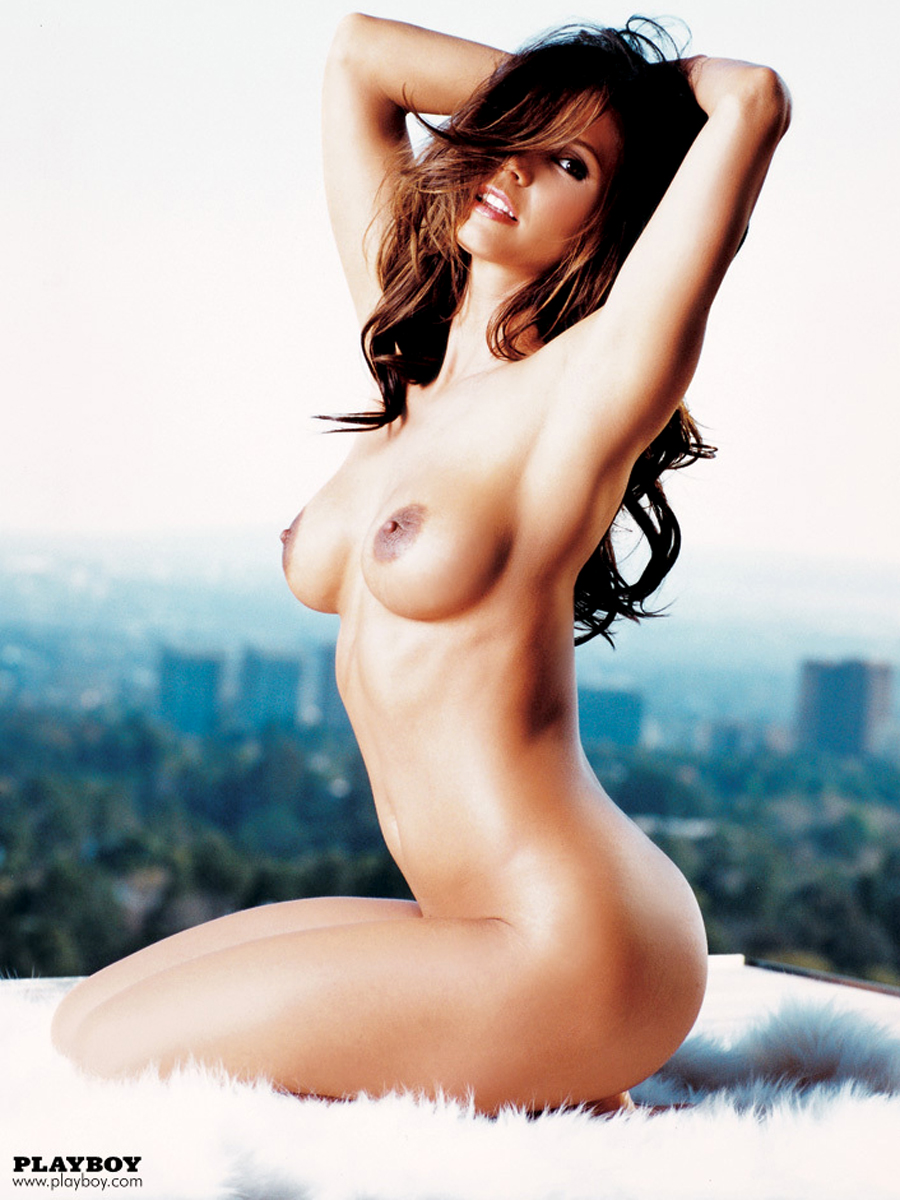 Charisma Carpenter Topless Playboy