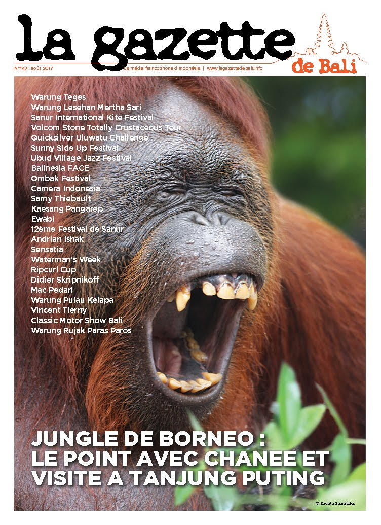 la Gazette de Bali août 2017