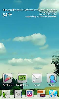 Whiteout GO LauncherEX Theme apk