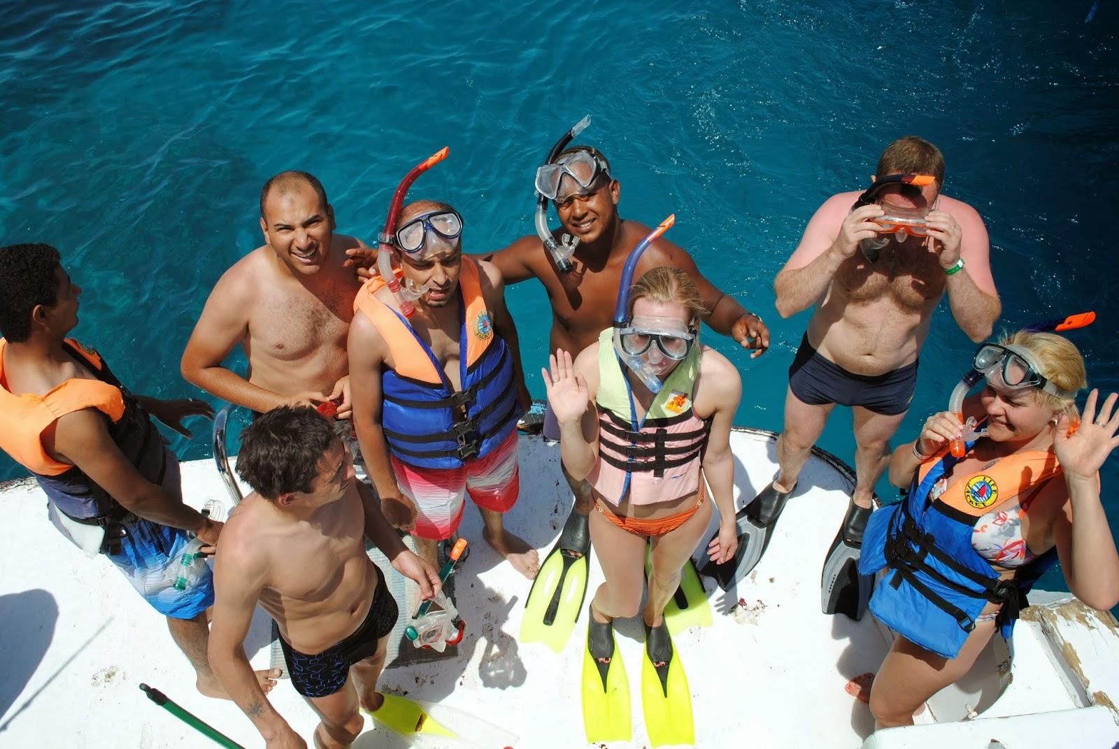 رحلة جزيرة الجفتون الغردقة