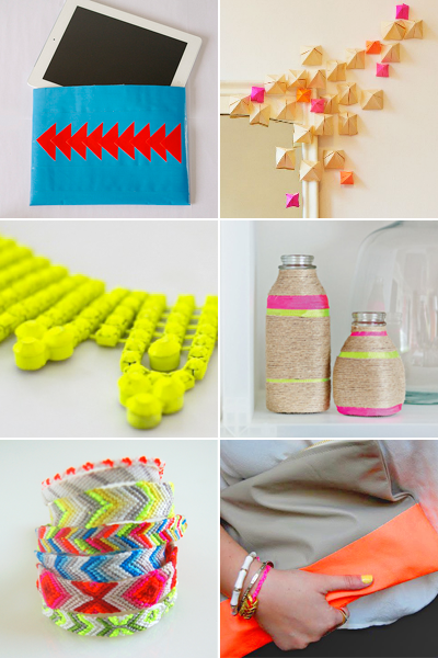 Http Howaboutorange Blogspot Com 2012 03 Round Up Of Bright Diy Projects Html