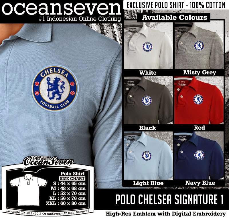Kaos Polo Chelsea Signature 1