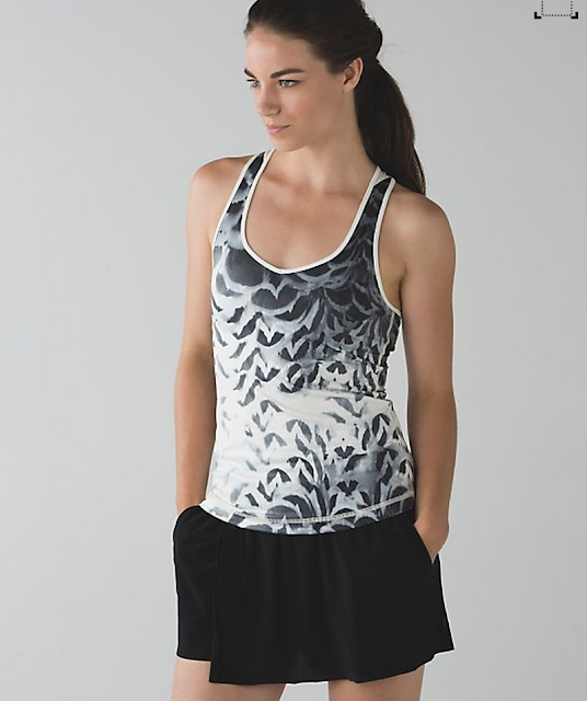 Dance To Yoga Tank  Pretty Plume Angel Wing