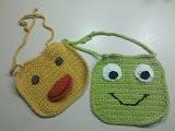 Bibs--Ducky & Frog