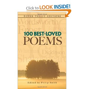 100 Best-Loved Poems (Dover Thrift Editions) [Paperback]