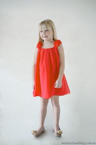 moda para nenas vestidos gro verano 2014