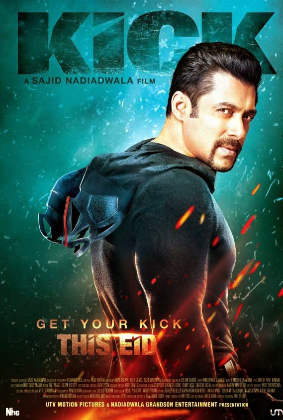 Kick Movie Poster - Salman Khan